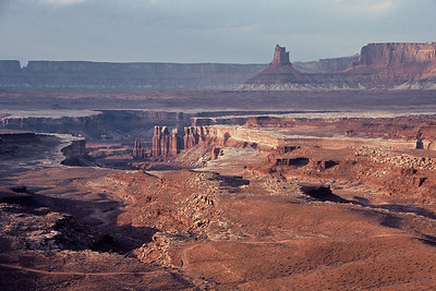 From Murphy Point on the White Rim Trail in Canyonlands National Park