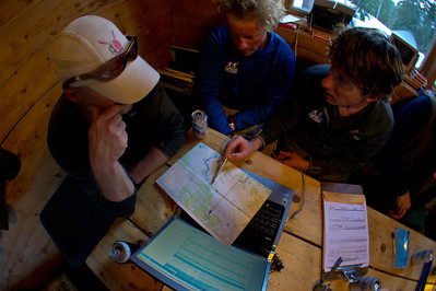 Weather and route discussions