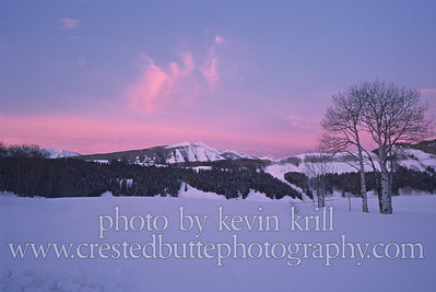 Meridian Lake Meadows sunrise