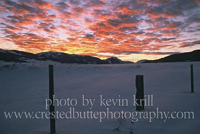 Riverland sunrise