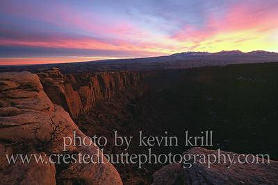 Long's Canyon sunrise
