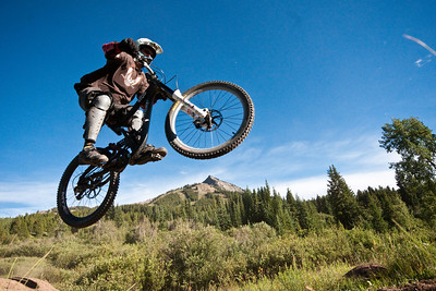 Mineral Point trail at Crested Butte Mountain Resort